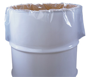 we stock a large variety of Heavy-duty clear poly drum liners