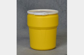 New 10 Gallon Poly nestable Drum