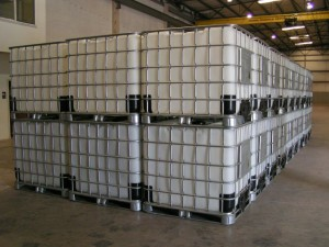 We stock 330 and 275 gallon IBC's by the truckload. New, Reconditioned and Re-bottled or Remanufactured