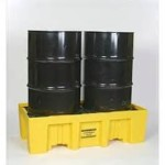 We stock spill pallets of all different sizes and styles. Please call for more information (800) 832-DRUM (3786)